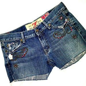 NWOT 7FAMK shorts